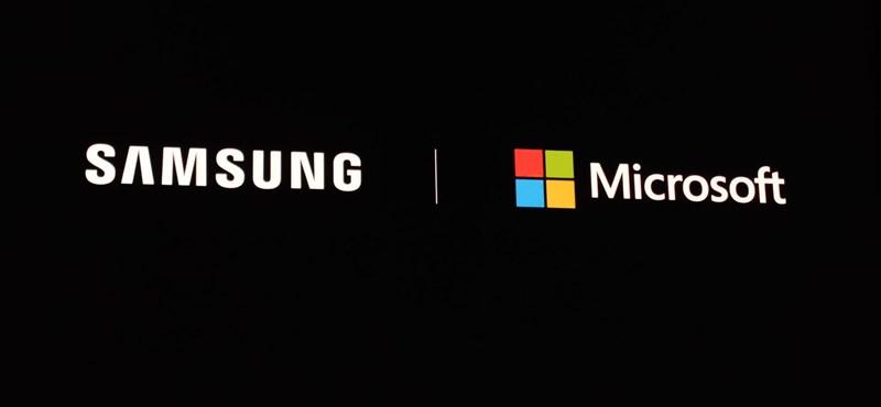 Egyre inkább megérezhetik a Samsung telefonosok, hogy a gyártó összeállt a Microsofttal