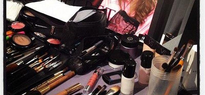 Palvin Barbara a Victoria's Secret bemutatója előtt