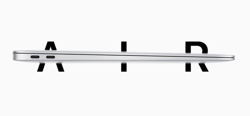 Új MacBook Airt jelentett be az Apple: gyorsabb és több rajta a szabad hely