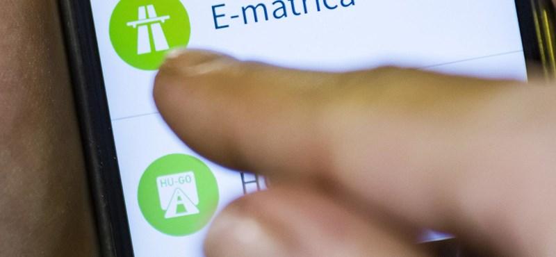 Vigyázzon, mert vasárnap hajnalban néhány óráig szünetel az e-matrica és az e-útdíj értékesítése