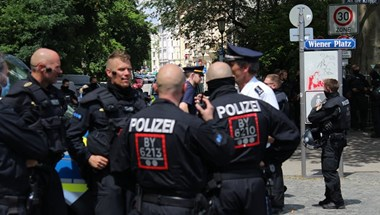 18 magyar szurkolót állított elő a rendőrség Münchenben