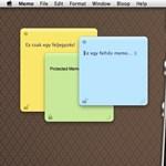 Sárga cetlik a felhőben Macen, iPhone-on és iPaden