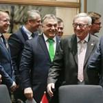 Mégsem Brüsszel az ellenség? Orbán kedélyesen kvaterkázik Junckerrel