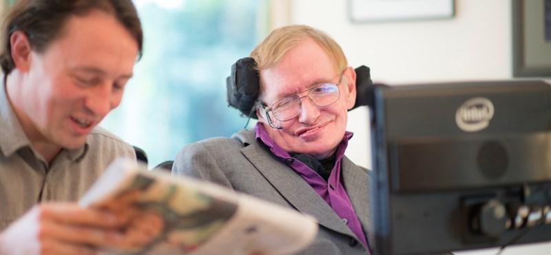 Új programmal internetezik Stephen Hawking