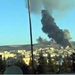 Így támadják a törökök a kurdokat - videó