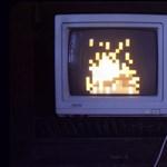 Nosztalgia: 8 bites - interaktív - kandalló, Windowsra és Macre