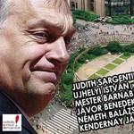 A magyar ellenzékkel együtt tüntet Sargentini