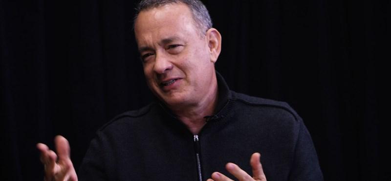 Tom Hanks elsírta magát a köszönőbeszéde közben