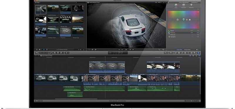 Idén érkezik egy nagyobb frissítés a Final Cut Pro X-hez