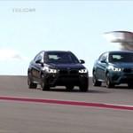 Letaglózó, ahogy a BMW nehézbombázói üldözik egymást