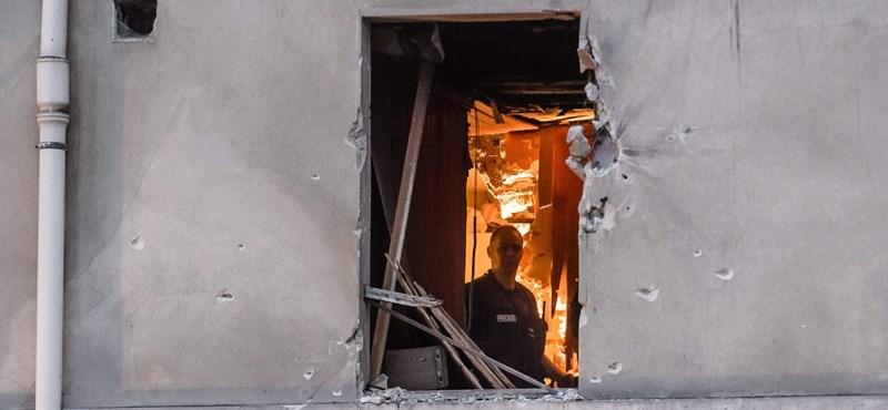 Fotók: Csak háborús romok maradtak a főterrorista búvóhelyéből