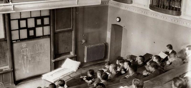 Ilyen volt az 1920-as években egyetemistának lenni: fotók a Pécsi Tudományegyetemről