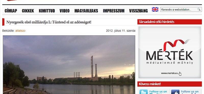 A németeknek nagyon bejön az Átlátszó.hu
