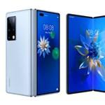 Félig androidos: itt a Huawei új csúcsmobilja, az összecsukható Mate X2