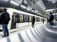 Elromlott egy jármű, nem járt az M4-es metró egy szakaszon