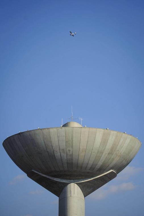 mti.17.03.21.  Egyedi tervezésű víztorony a főváros XXII. kerületében, Budafokon 2017. március 14-én. nagyítás, víztorony, víz világnapja,  Budafok