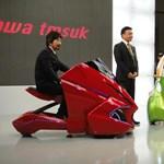 Japánban ismét feltalálták a jövő járművét: itt a KOBOT