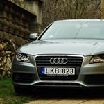 Audi A4 teszt: egy kicsit minden lassabb