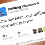 Windows 8 béta - egymillió letöltés egy nap alatt