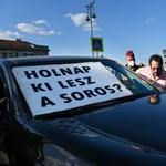 1,2 millió forintra büntette a rendőrség az egyik dudálós tüntetőt
