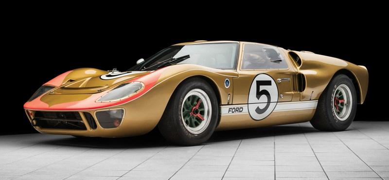 3,3 milliárd forintért mehet el a Le Mans-i aranykor egyik legfontosabb Ford GT40-ese