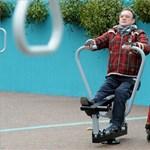 Fitness parkot kaptak az idősek a Városligetben