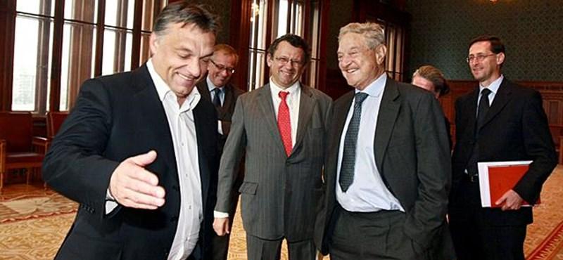 A nap, amikor a háttérhatalom fura mondatokat adott Orbán szájába