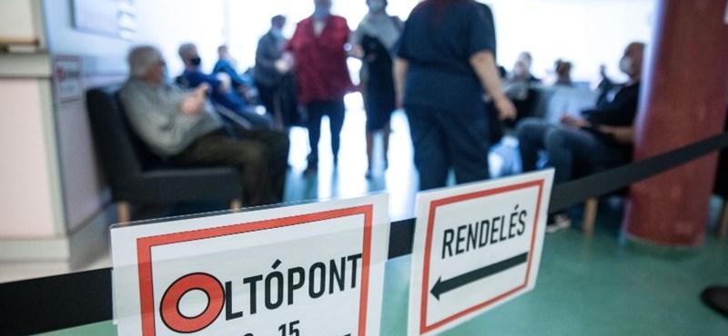 Akár április végére megkaphatja minden regisztrált az első oltást Magyarországon