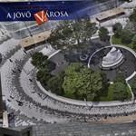Nézze meg: ilyen lesz a felújítás után a Vörösmarty tér