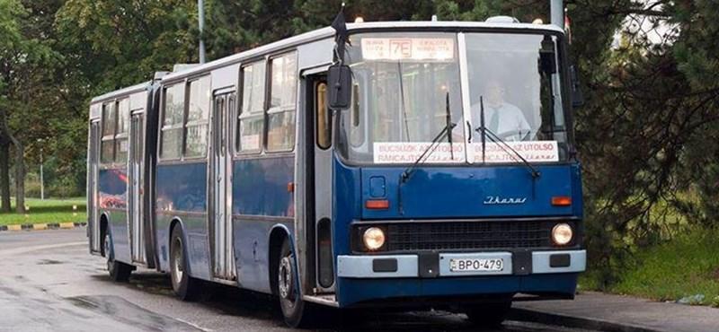 Fotó: Vegyünk érzékeny búcsút ettől az Ikarus-busztól