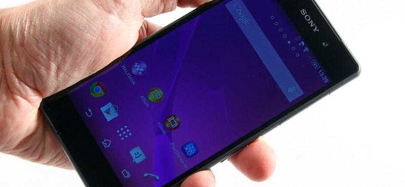Sony Xperia Z2 teszt: Nevető harmadik