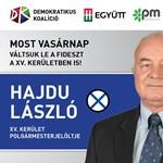 A DK is támogatta a XV. kerületben DK ellen szavazó jogászt