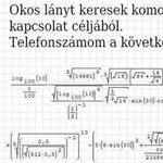 Ez a kép terjed a Facebookon: ki tudja megoldani ezt a matekleckét?