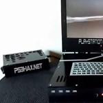 A nap videója – hordozható, vízhűtéses, Playstation 3 laptop