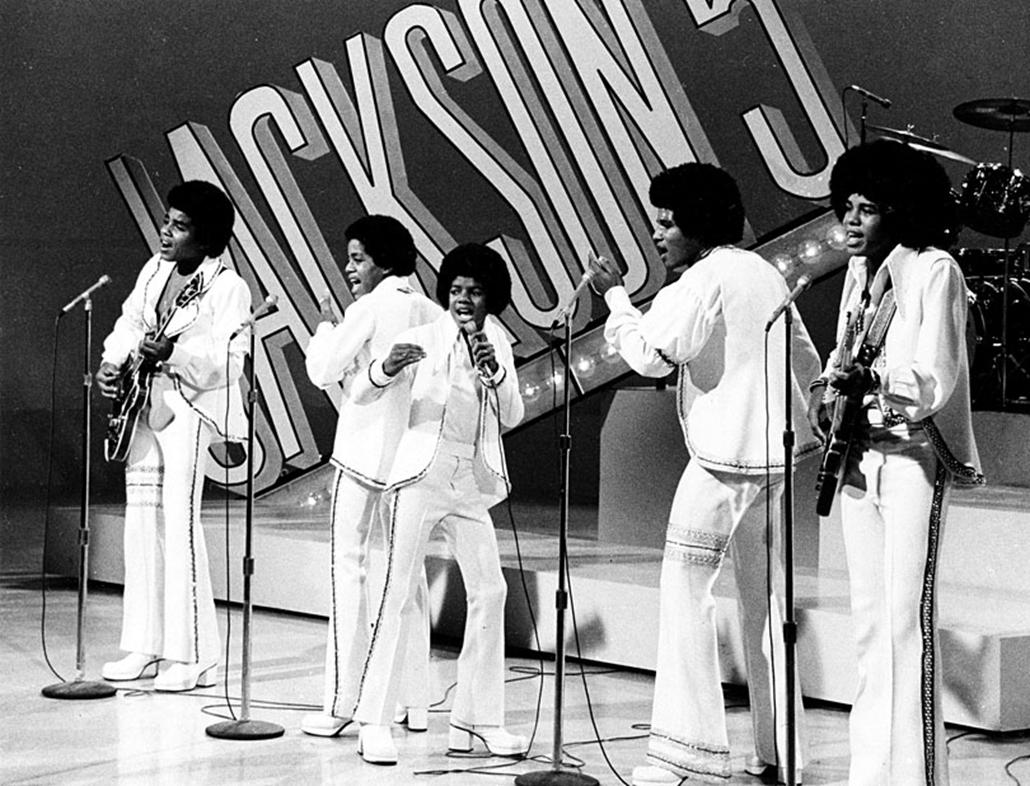 A Jackson 5 előadása Los Angeles-ben 1972. szeptember 15-én.