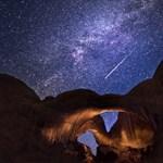 Nézze meg 7 év látványos meteoresőit egy 2 perces videón