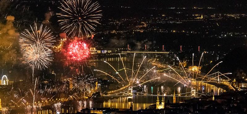 222 millióba kerül idén az augusztus 20-i tűzijáték
