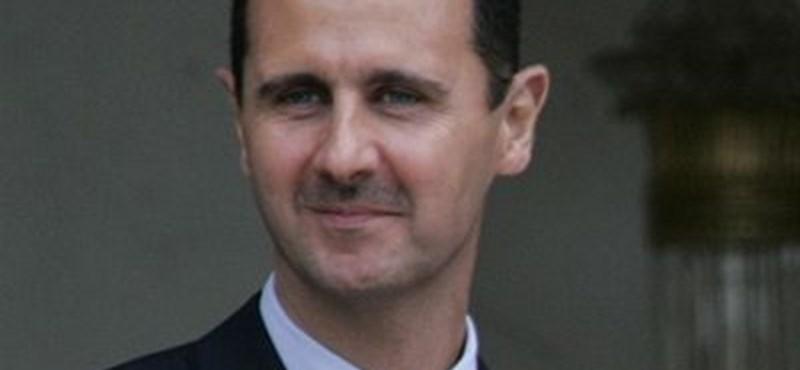 Cáfolták, hogy Aszad kész lemondani