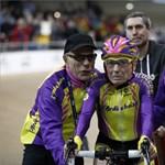 105 évesen döntött rekordot egy francia biciklis bácsi