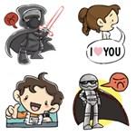 Star Wars-matricák jöttek a Facebookra, már telepítheti is őket