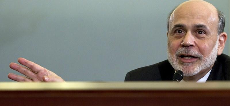 Bernanke: a Fed lép, ha kell