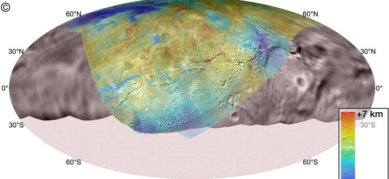 Izgalmas térkép készült a Pluto Charon nevű holdjáról, feltárja a történelmét