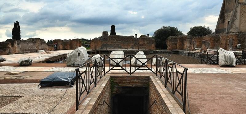 Fotók: Restaurálták Néró leégett palotáját Rómában