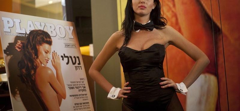Fotó: kijött az első héber Playboy