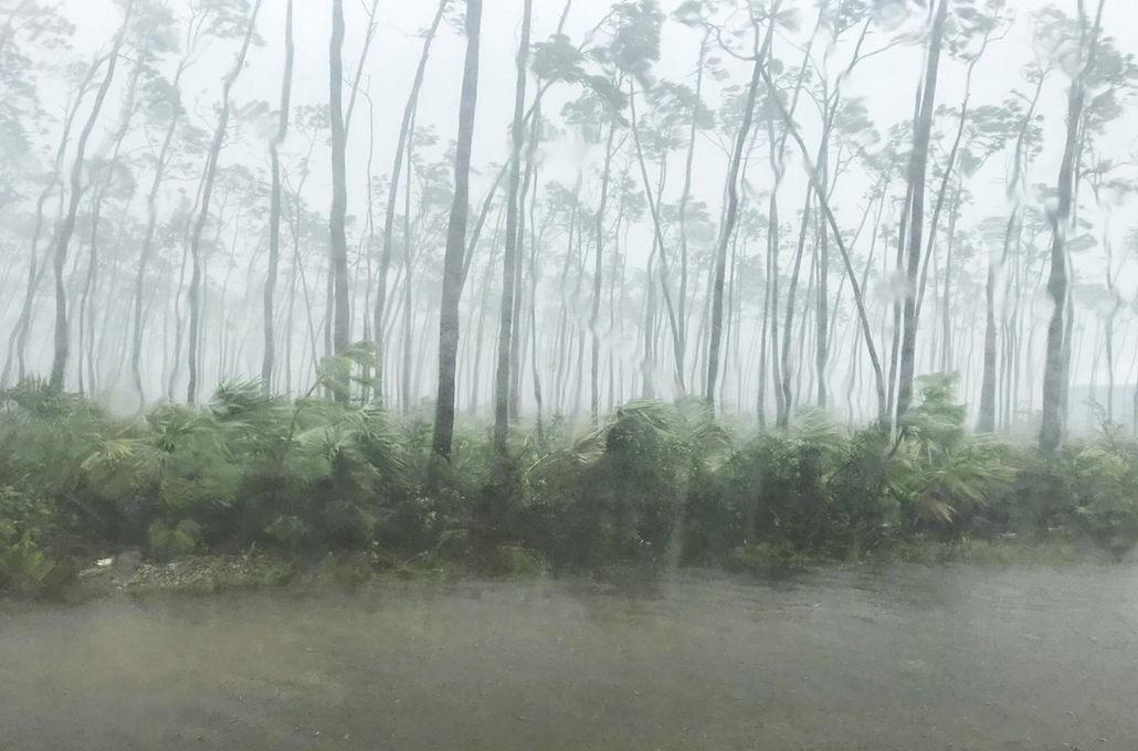 Nagyítás Dorian hurrikán