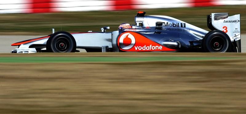 F1: Buttonnak csak a farát látták