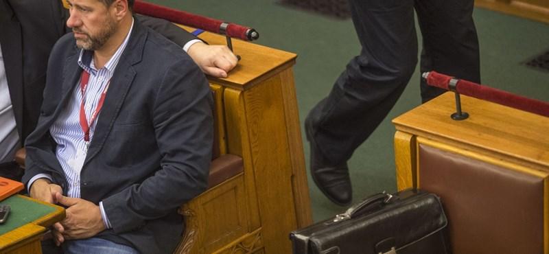 Videó: Simonka nem volt túl boldog, hogy kiadta őt az Országgyűlés