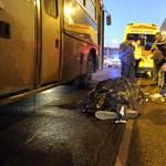 Halálra gázolt egy BKV-busz egy férfit Zuglóban