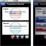 Új iPhone-alkalmazás: szinkrontolmács a zsebben