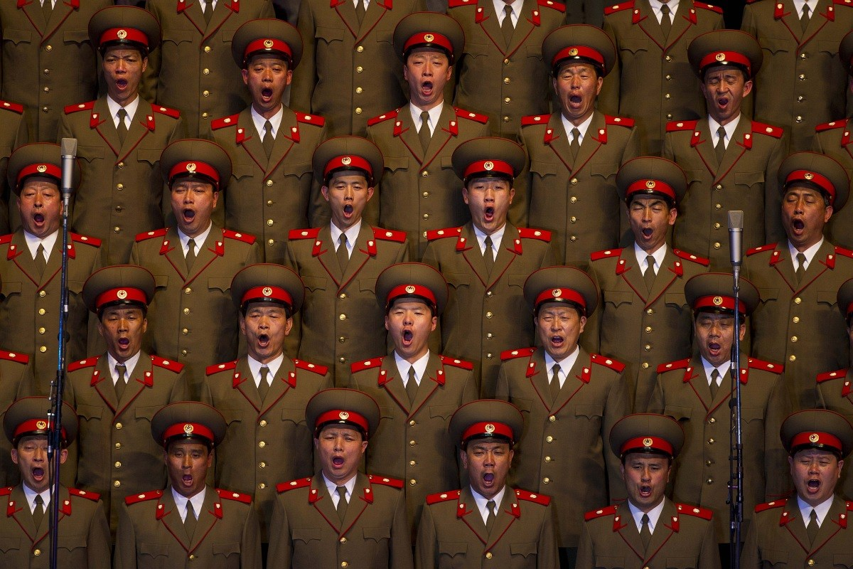 Észak-Korea keményen ünnepel - Nagyítás-fotógaléria